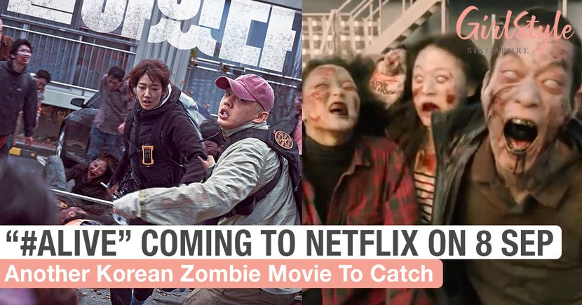 "Korean Zombie Movie ""#ALIVE"" Coming To Netflix On 8 September 2020"