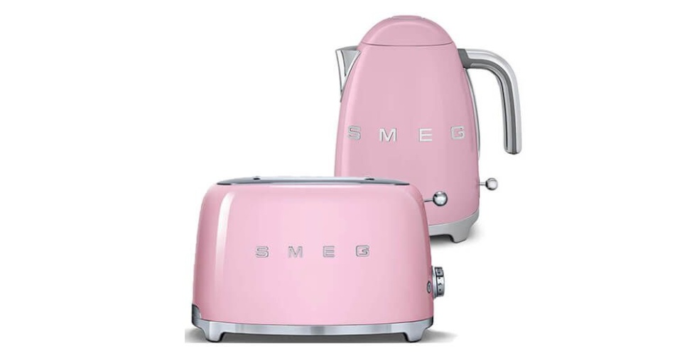 Smeg pink appliances