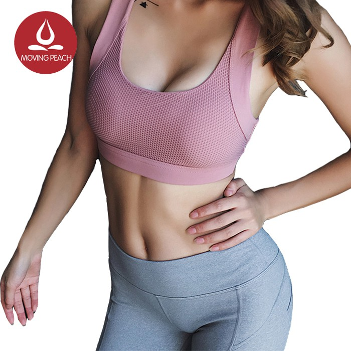Push up sports bra in pink