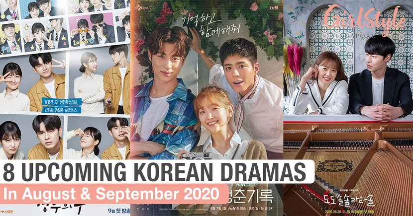 8 Upcoming K-Dramas To Add To Your Watchlist In August & September 2020