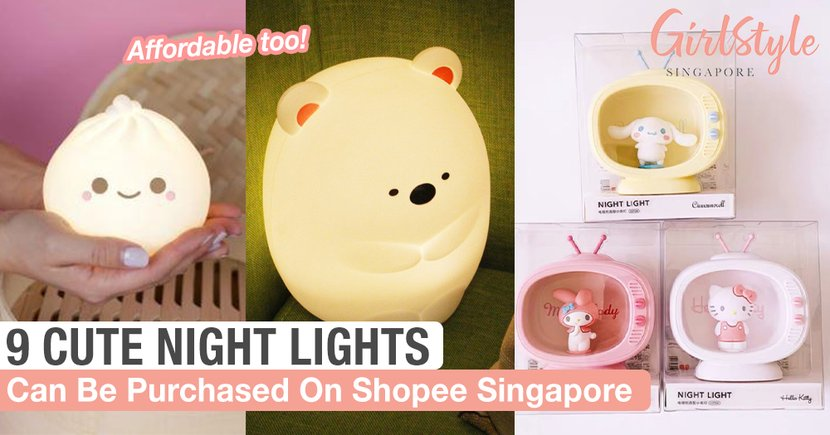 9 Cute And Affordable Night Lights In Singapore To Help You Sleep Soundly