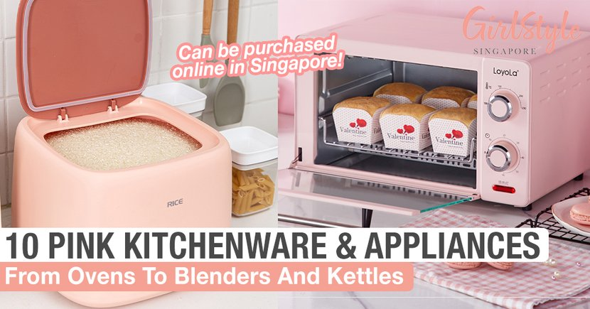 10 Pink Kitchenware & Appliances From Ovens To Blenders, Can Be Purchased Online In Singapore