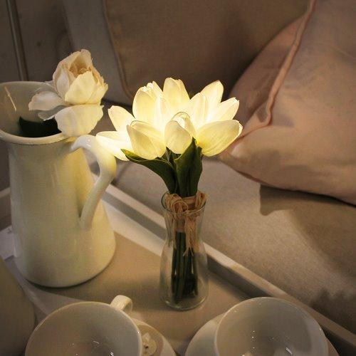 Tulip bouquet LED night light