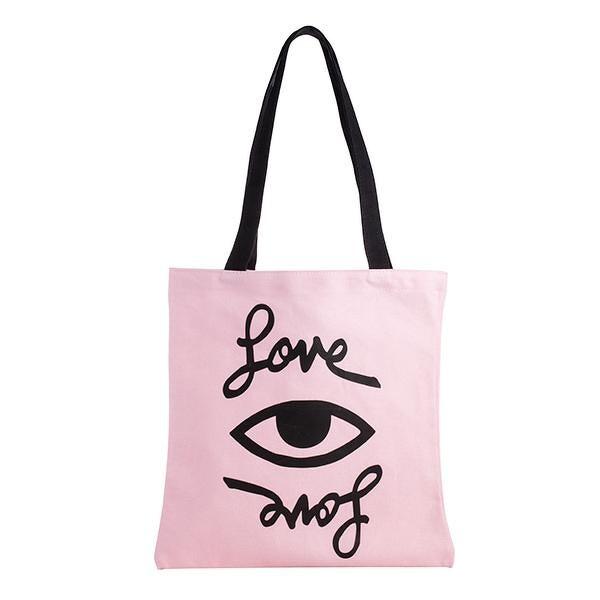 Starbucks Taiwan rebecca minkoff pink love eye tote bag