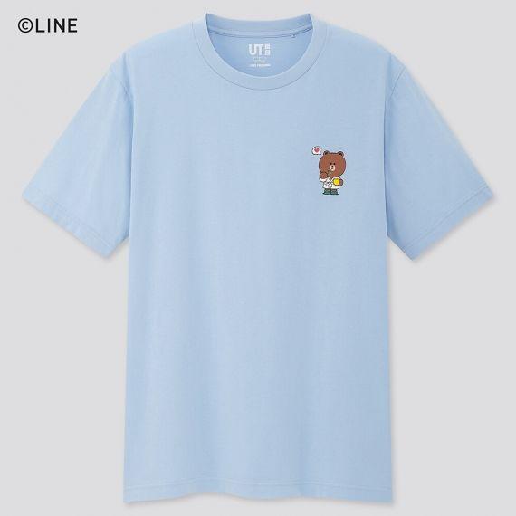 Pastel blue LINE FRIENDS shirt