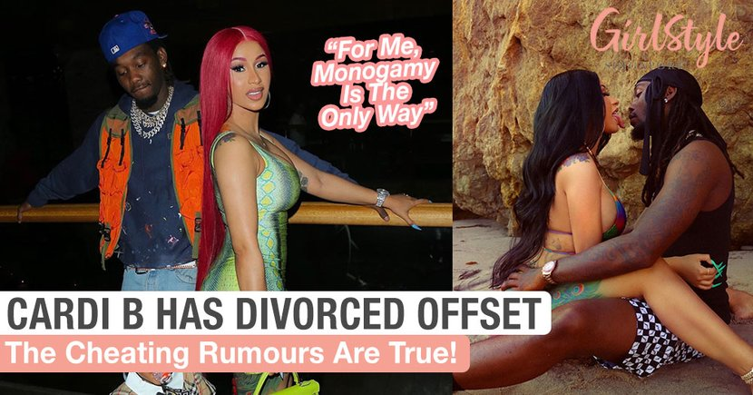 Cardi B Has Divorced Rapper Husband Offset After 3 Years Of Marriage Due To Him Cheating