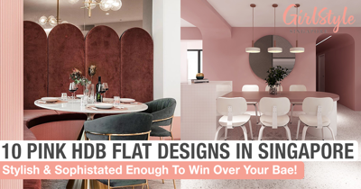 10 Pink HDB Flat Designs In Singapore That Nail The Feminine & Sophisticated Look