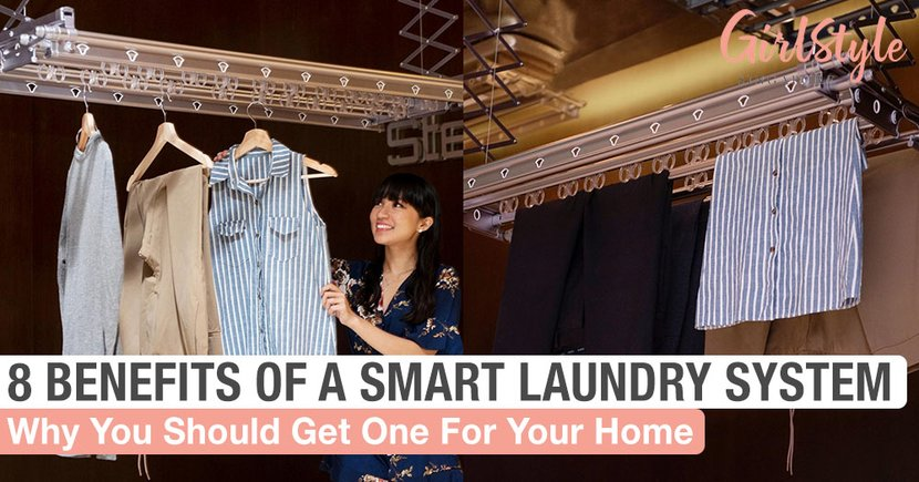 8 Reasons Why You Should Get A Smart Laundry System For Your Home In Singapore
