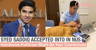 Handsome 27-Year-Old M'sian Politician Syed Saddiq Accepted Into NUS, Might Be Your Coursemate