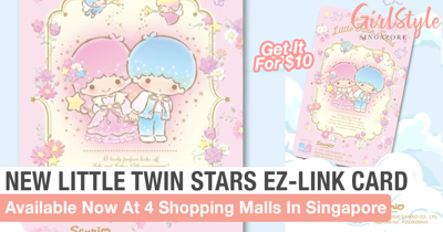 New Little Twin Stars EZ-Link Card Is Available Now In 4 Shopping Malls