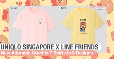 You Need To Cop Uniqlo Singapore's New Adorable LINE FRIENDS Graphic T-Shirts