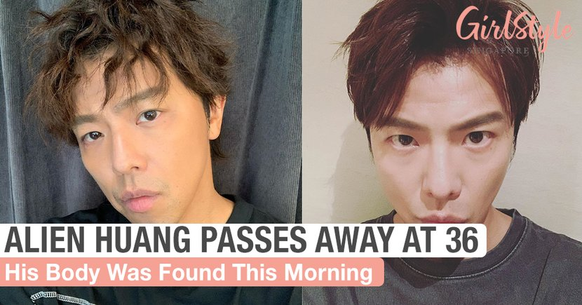 Taiwanese Singer-Actor Alien Huang Passes Away At 36