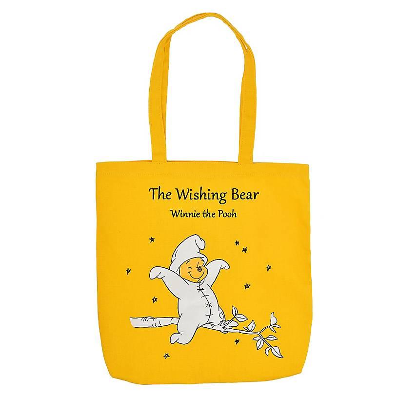 the wishing bear winnie-the-pooh tote bag