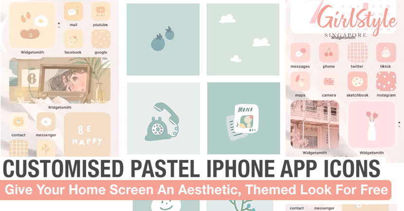 Gorgeous Pastel App Icons You Can Customise On Your iPhone For Free