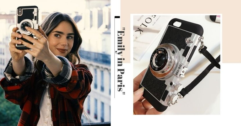 "You Can Get The Trending ""Emily In Paris"" Camera Phone Case In Singapore At Less Than $9"