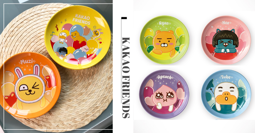 New KAKAO FRIENDS X 7-Eleven Singapore Ceramic Plates Can Be Redeemed For Free
