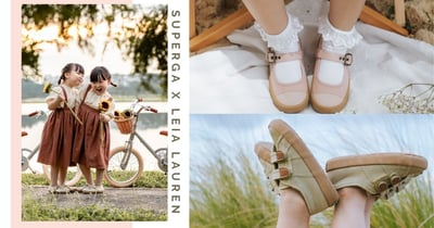 Superga x Leia Lauren: Everyday Shoes For The Little Ones In Your Life Dropping On 31 Oct