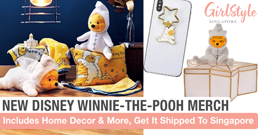 New The Wishing Bear Winnie-The-Pooh Collection Has Adorable Home Goods, Get It Shipped To SG