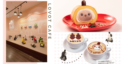 New Permanent Robot-Themed Cafe In Japan Lets You Interact With Cute Lifelike Robots