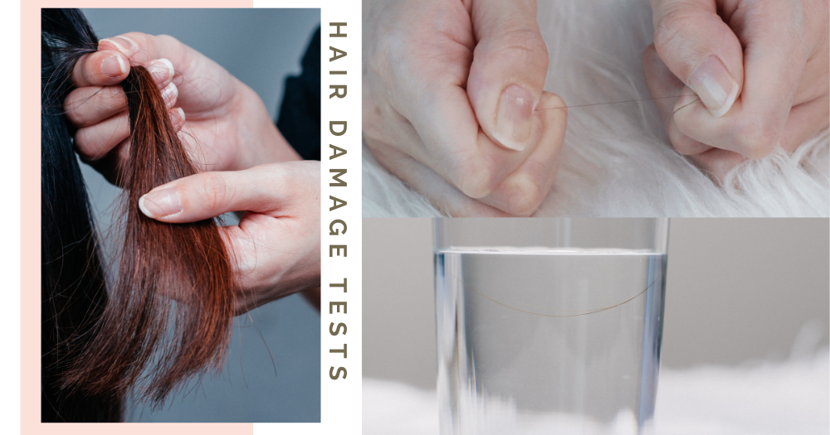 3 Easy Ways To Test If Your Hair Is Damaged & How Aloe Vera Can Reverse It