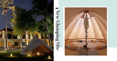There's A New Glamping Experience At Kampong Gelam With Movie Projector & Portable Aircon