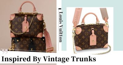 Louis Vuitton's New Petite Malle Souple Bag Is Inspired By Vintage Travel Trunks, Comes In Peach