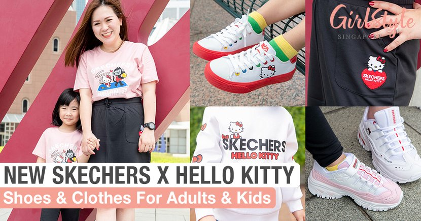 Skechers x Hello Kitty: New Sneakers & Clothes For Both Adults & Kids Now In Singapore