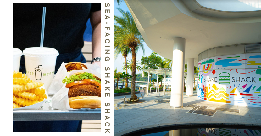 Shake Shack SG Is Opening Its 5th Outlet At VivoCity With Stunning Sunset Views Of Sentosa