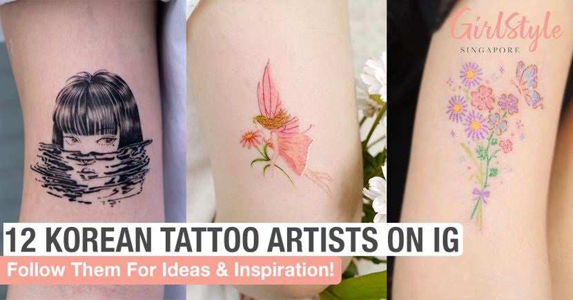 12 Korean Tattoo Artists To Follow On Instagram For Inspiration