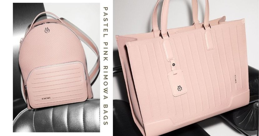 RIMOWA Is Launching New Bags In A Pastel Pink Colour With Features Of Its Renowned Luggage
