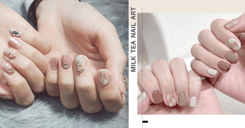 12 Soft, Subtle & Universally-Flattering Milk Tea-Inspired Nail Art Designs