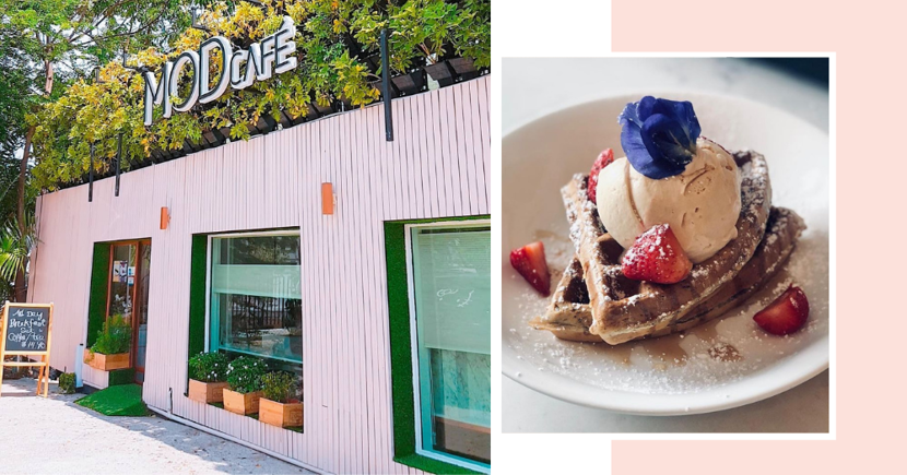 Lesser-Known Pink Container Cafe Near ECP Has Brunch Food, Alcoholic Milo & Adjacent Hair Salon