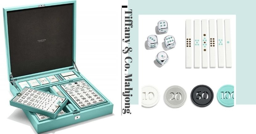 New Luxe Tiffany & Co. Mahjong Set In Iconic Tiffany Blue Case Will Give You Maximum Huat