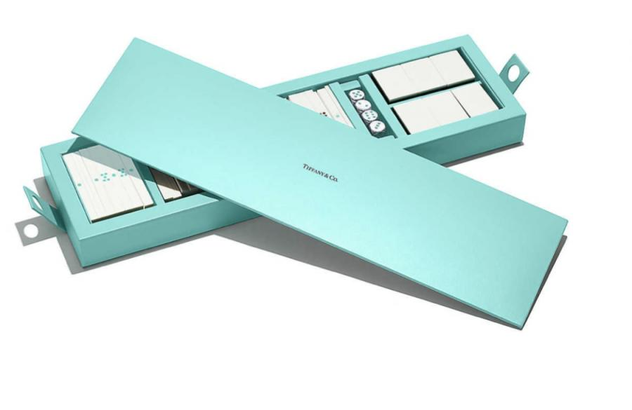 Tiffany & Co. mahjong box to store dice and coins