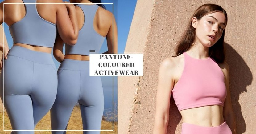 Get These Pantone-Coloured Activewear In Minimalist Designs To Exercise In Style