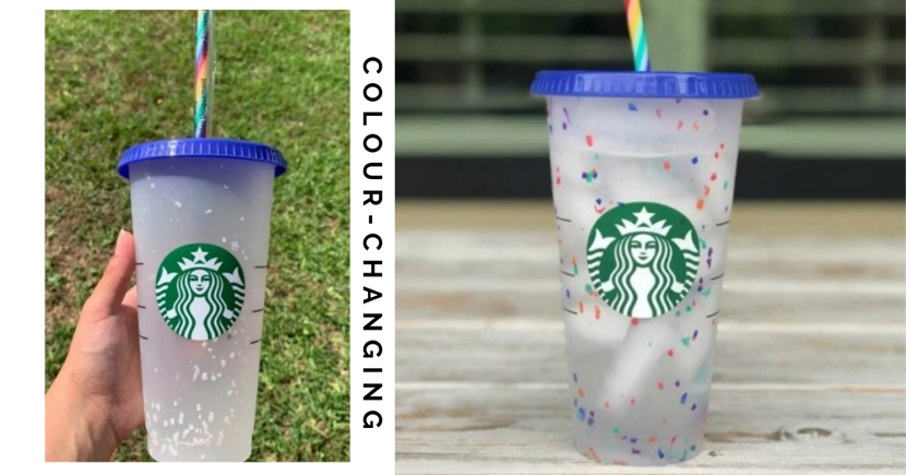 You Can Still Get The Sold-Out Starbucks Singapore $6.20 Colour-Changing Confetti Cold Cups On Shopee