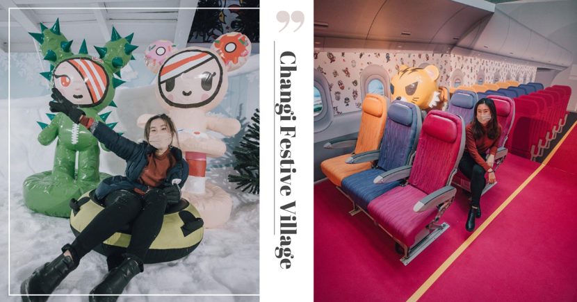 New Changi Festive Village Has A Tokidoki-Themed Plane & Snow House With Slide & More