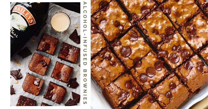 Home-Based Business In Singapore Sells Boozy Brownies Including Baileys & Rum With Free Delivery