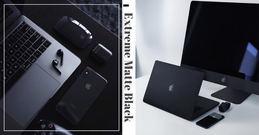 Extremely Dark Matte Black Apple Products Rumoured To Be Launched In The Future