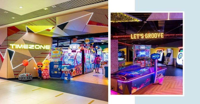 Largest Timezone Arcade Is Now Open At Westgate With Over 200 Games & 3 Different Zones