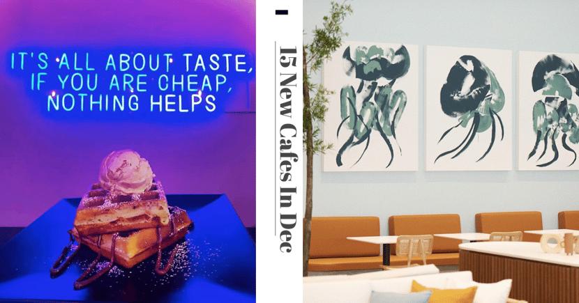 15 New Cafes & Restaurants In Dec 2020: Flaming Ramen, Pink Coffeehouse, & $10/Pax Mookata