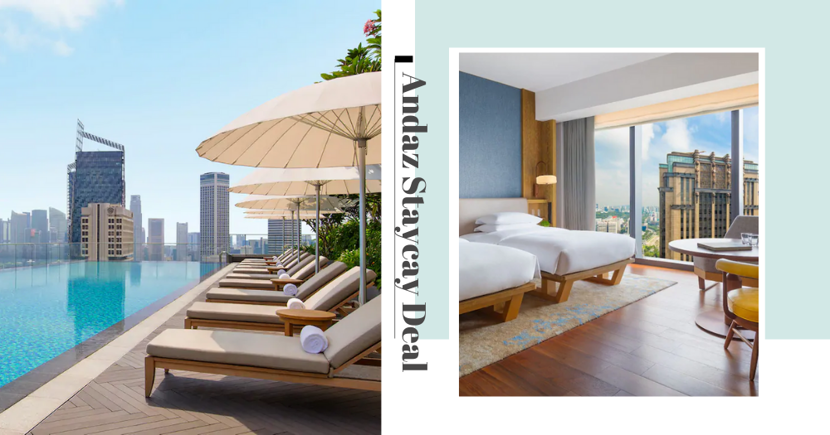 Andaz Staycation: From $100/Pax With Free $100 F&B Credits When You Use SingapoRediscovers