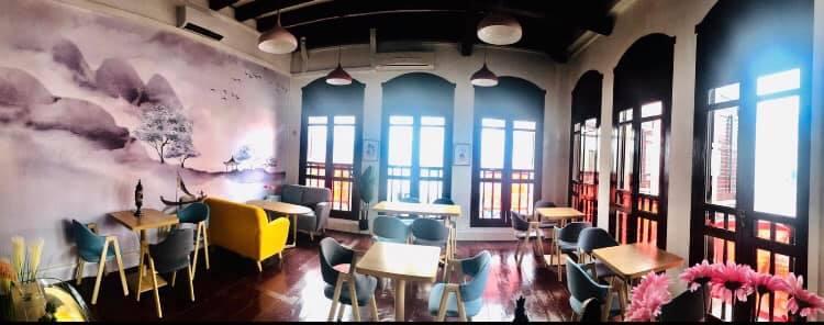 inside sweetea cafe interior decor