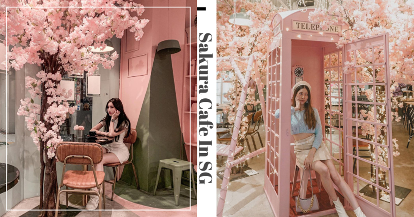 Feel Like You're Back In Japan At Brown Butter Cafe With Their New Sakura Decor