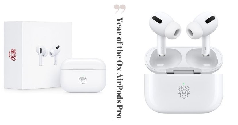 Apple Unveils Limited Edition AirPods Pro With Adorable Ox Emoji For Chinese New Year