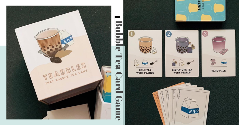 There's A New Bubble Tea-Themed Card Game In Singapore To Play With Your BBT Squad
