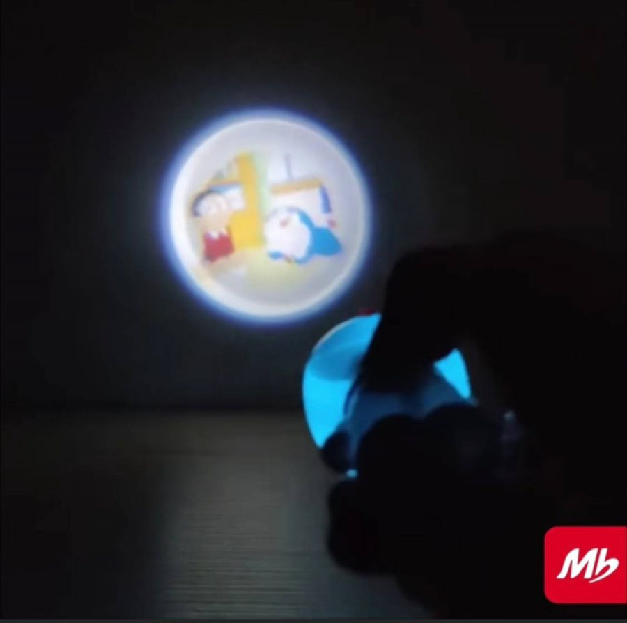 Marrybrown Singapore doraemon projectoy toy in the dark