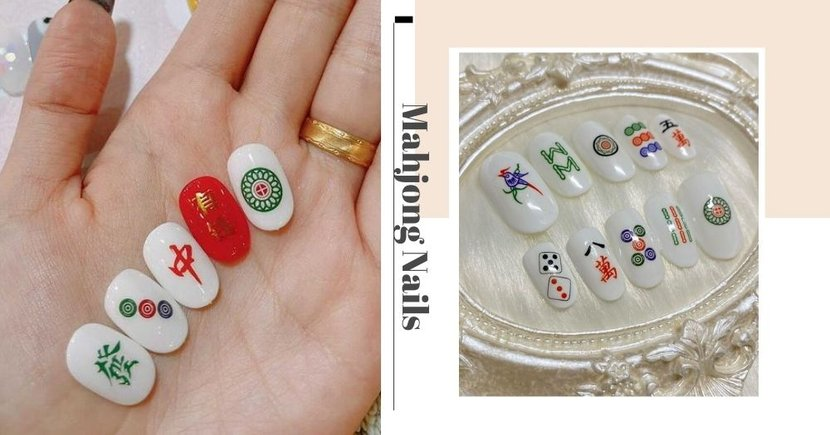 """6 Places In Singapore To Get Mahjong Nails For CNY So You Can Get """"Man Tai"""" All The Time"""