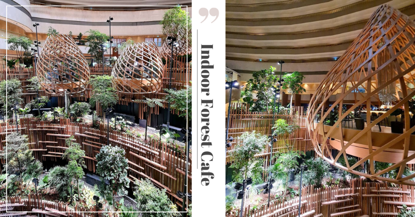 """Dine In An Indoor Forest Oasis In The """"Sky"""" At The Newly Renovated Restaurant & Bar In Marina Bay Singapore"""