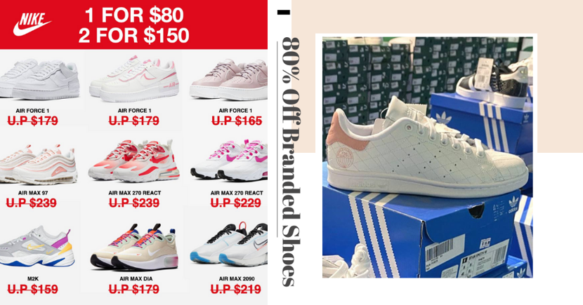 There's A Warehouse Sale With Up To 80% Off Branded Shoes From Nike, Adidas, Puma & More